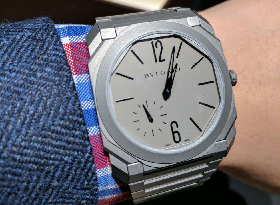 VIDEO: World's Thinnest Automatic Watch—Bulgari Octo Finissimo Automatic