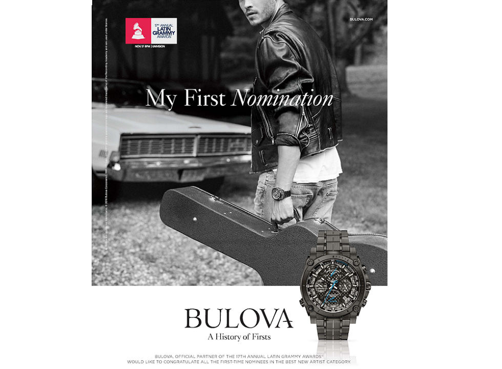 BULOVA Announces Partnership with The Latin Recording Academy®