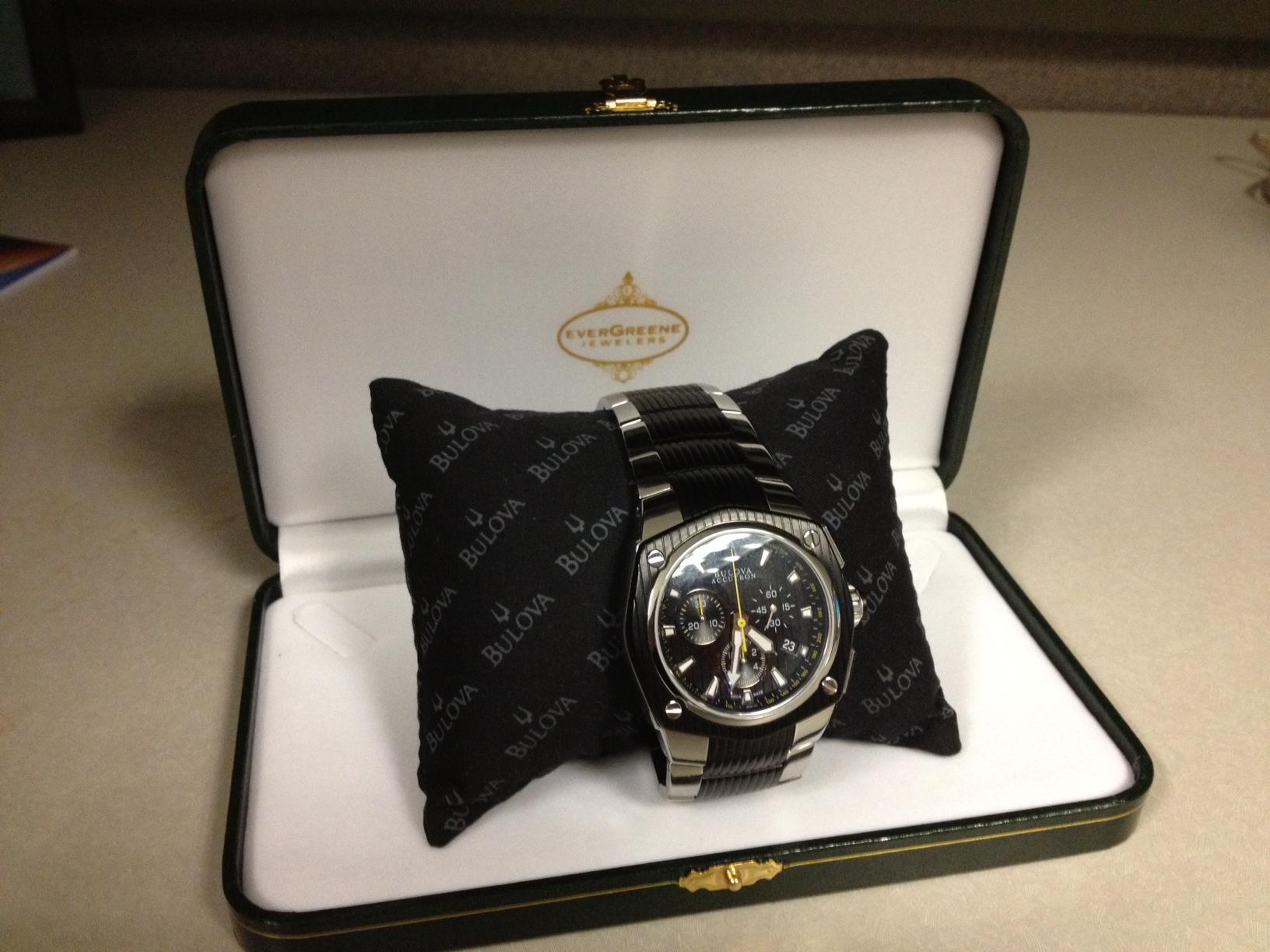 超值:BULOVA ACCUTRON Men's Corvara Watch 65B123-奢品汇 | 海淘手表 | 腕表资讯