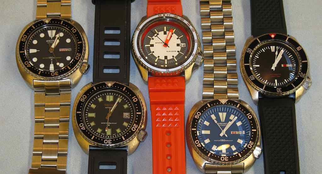 Name:  Bunch of Seikos.jpg
