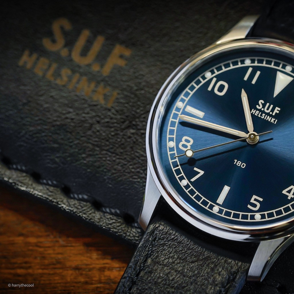 SUF 180 Blue Dial