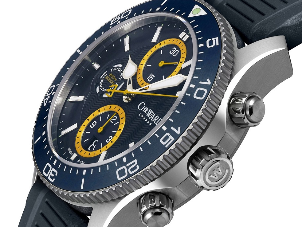 Christopher Ward Designer breathes new life into C60 Trident