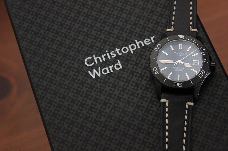 Name:  C60 Trident Pro 600 Vintage on black leather white stitch Panatime strap10.jpg Views: 36 Size:  53.6 KB