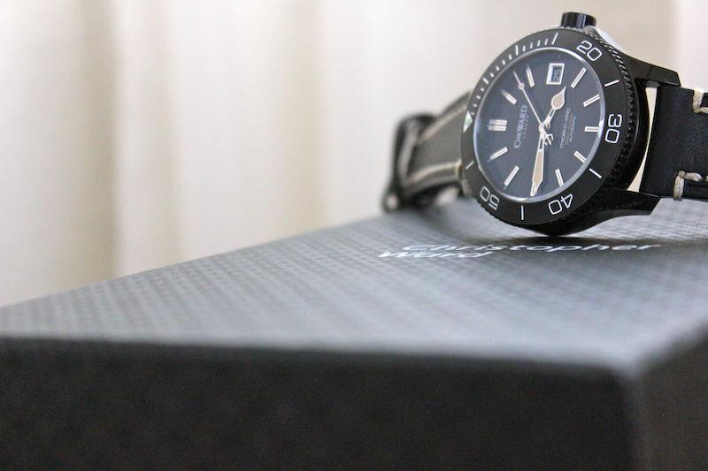 Name:  C60 Trident Pro 600 Vintage on black leather white stitch Panatime strap7.jpg Views: 29 Size:  48.4 KB