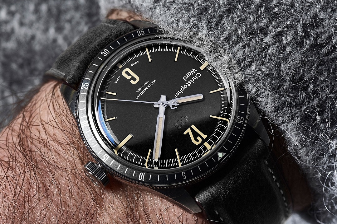 Christopher Ward Offers Retro Take On Modern Diver: C65 Trident ...
