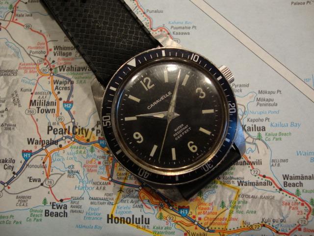 antique caravelle watch