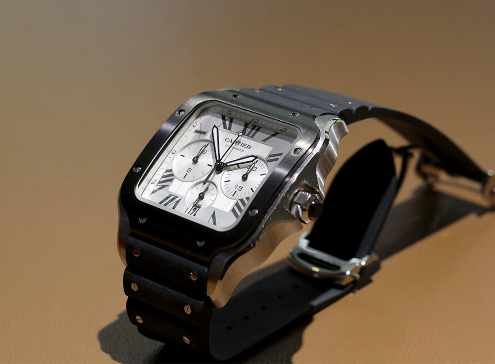 Cartier Santos Chronograph