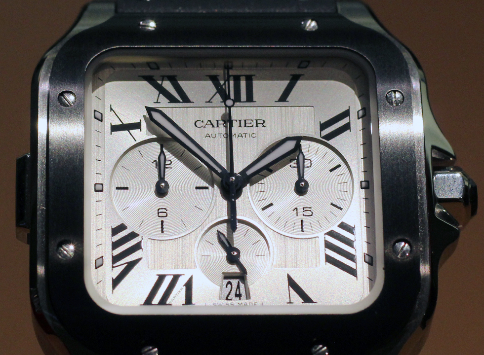 Cartier Santos Chronograph Dial