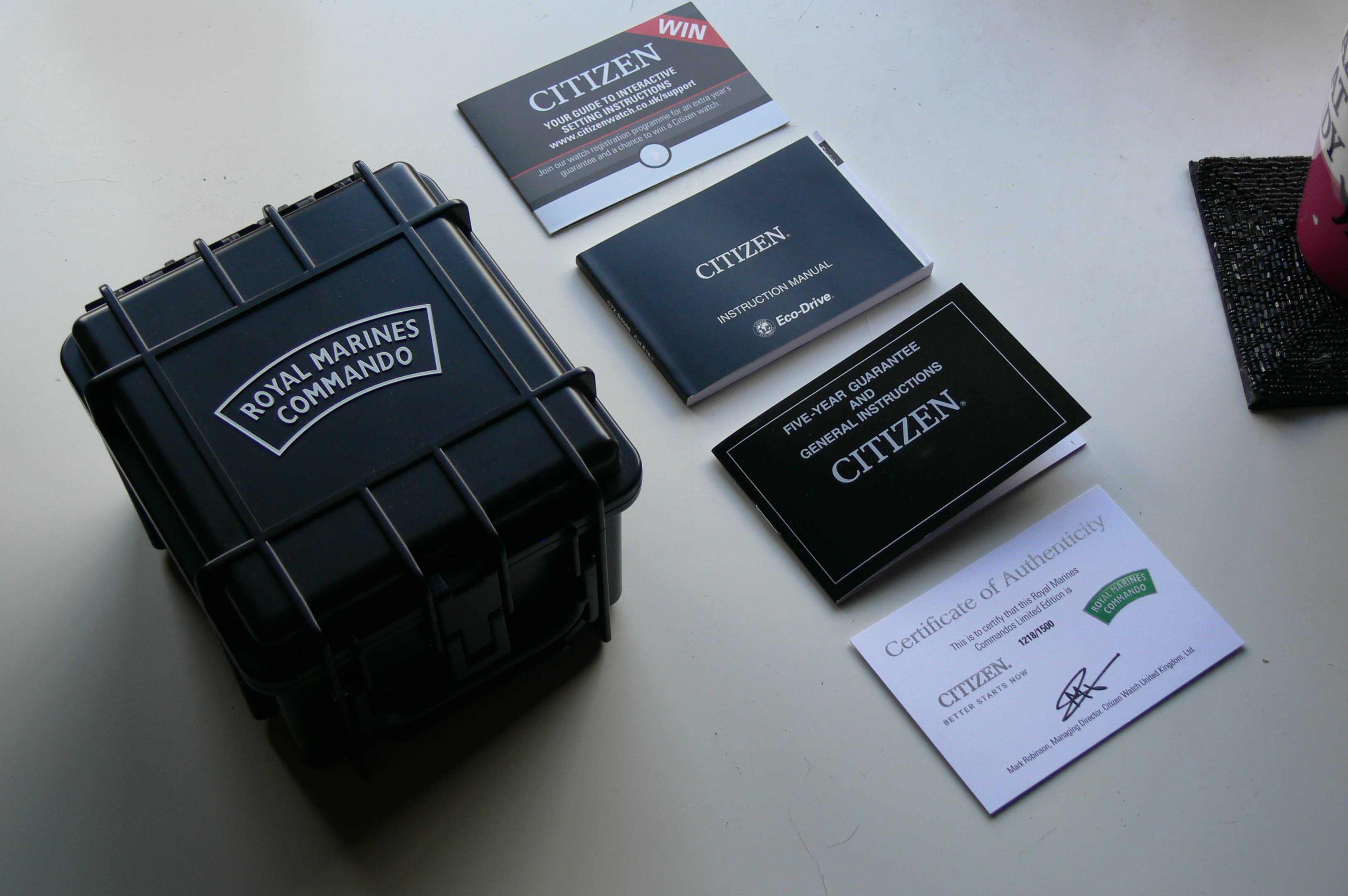 Jewelry & Watches CITIZEN authentic Eco-Drive instruction manuals ...