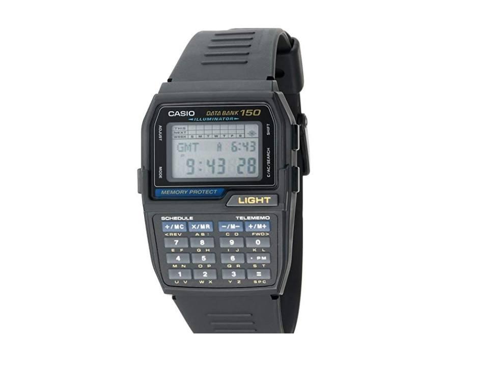 Casio DBC150-1 Databank Digital Watch