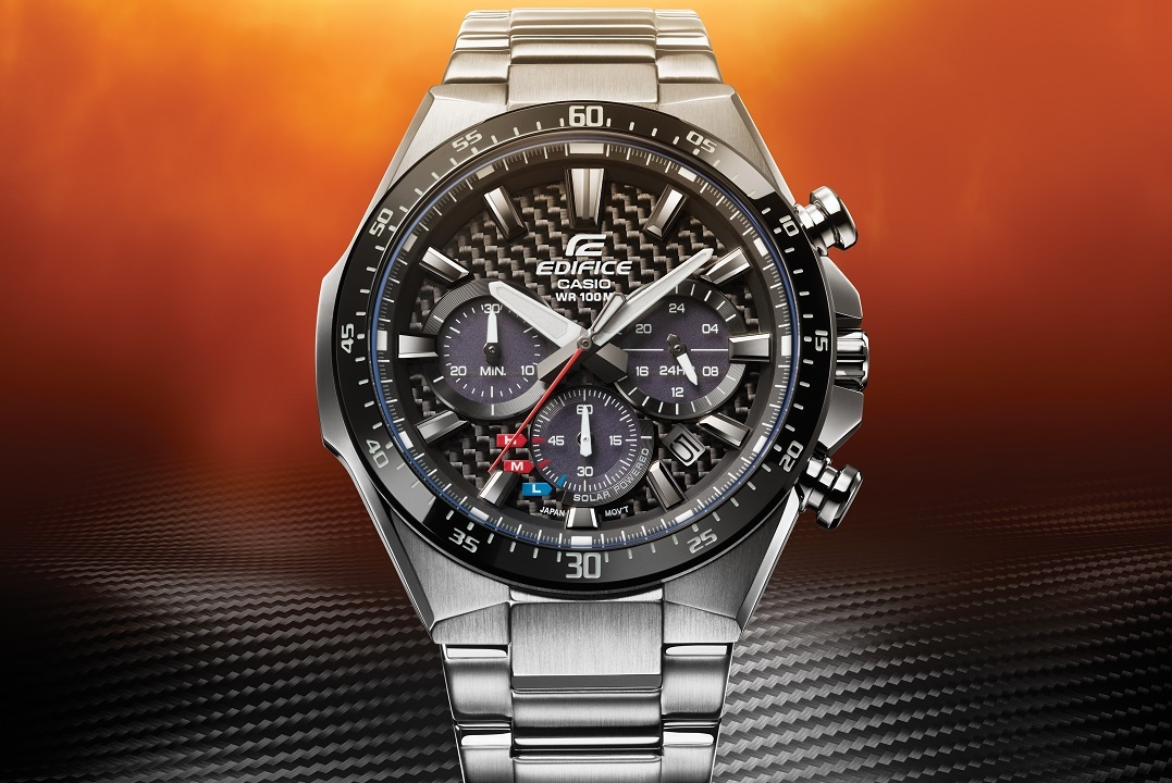 Budget Energy Top Up >> New Casio Edifice EQS800 with Carbon Fiber Dial ...