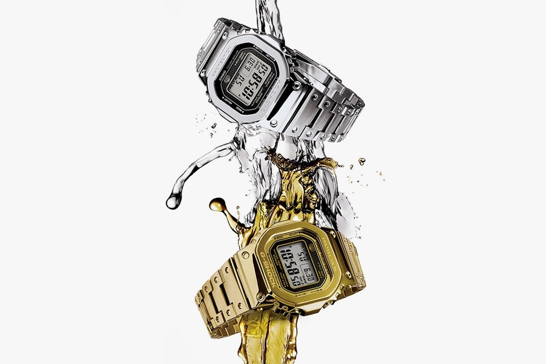 Casio G-SHOCK celebrates its 35th anniversary with 4 major new watch releases, and here we'll feature the first two: The G-SHOCK GMWB5000 and G-SHOCK MRG G2000HA-1A