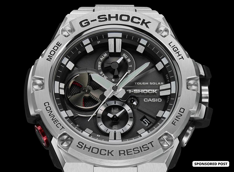 465a09f01a2 G-SHOCK G-STEEL GSTB100D-1A - watchuseek.com