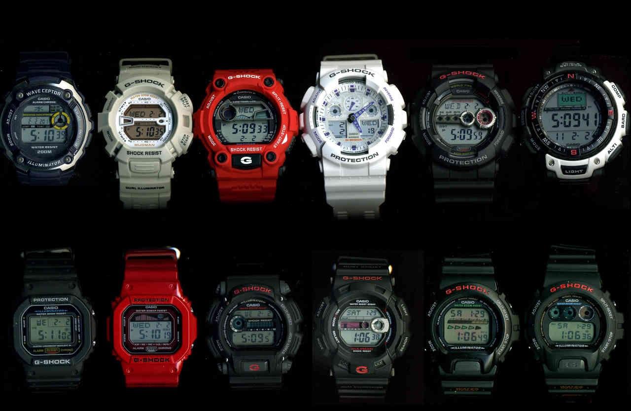 Casio G-Shocks