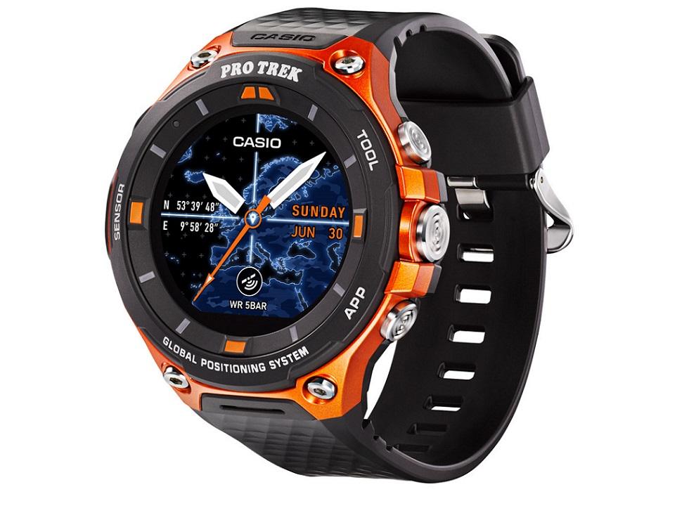 Ces 2017 Casio Pro Trek Wsd F20 Smart Watch Watchuseek Com