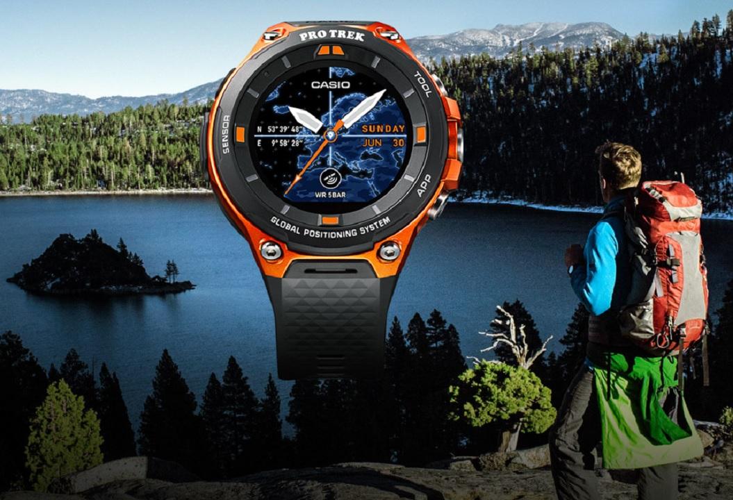 CES 2017: Casio Pro Trek WSD-F20 Smart Watch
