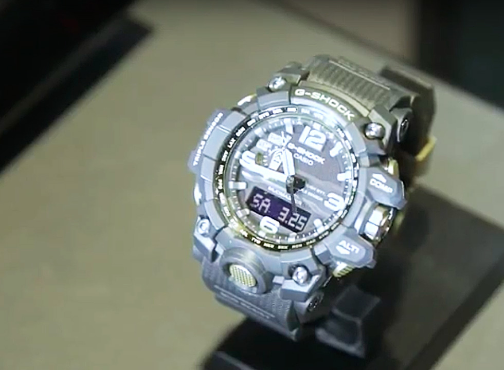 Casio G-Shock Watch Collection from Baselworld 2017