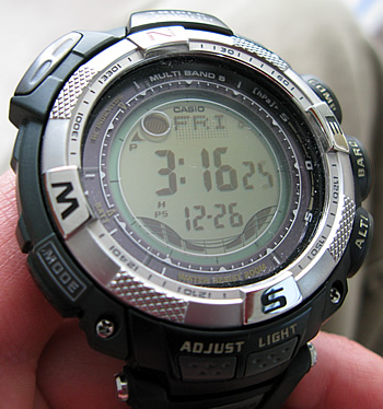 Casio Paw1500-1v Pathfinder Atomic Tough Solar Watch-奢品汇 | 海淘手表 | 腕表资讯