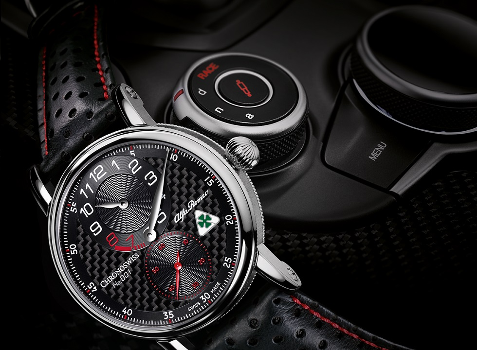 Chronoswiss Regulator Alfa Romeo Quadrifoglio Limited Edition