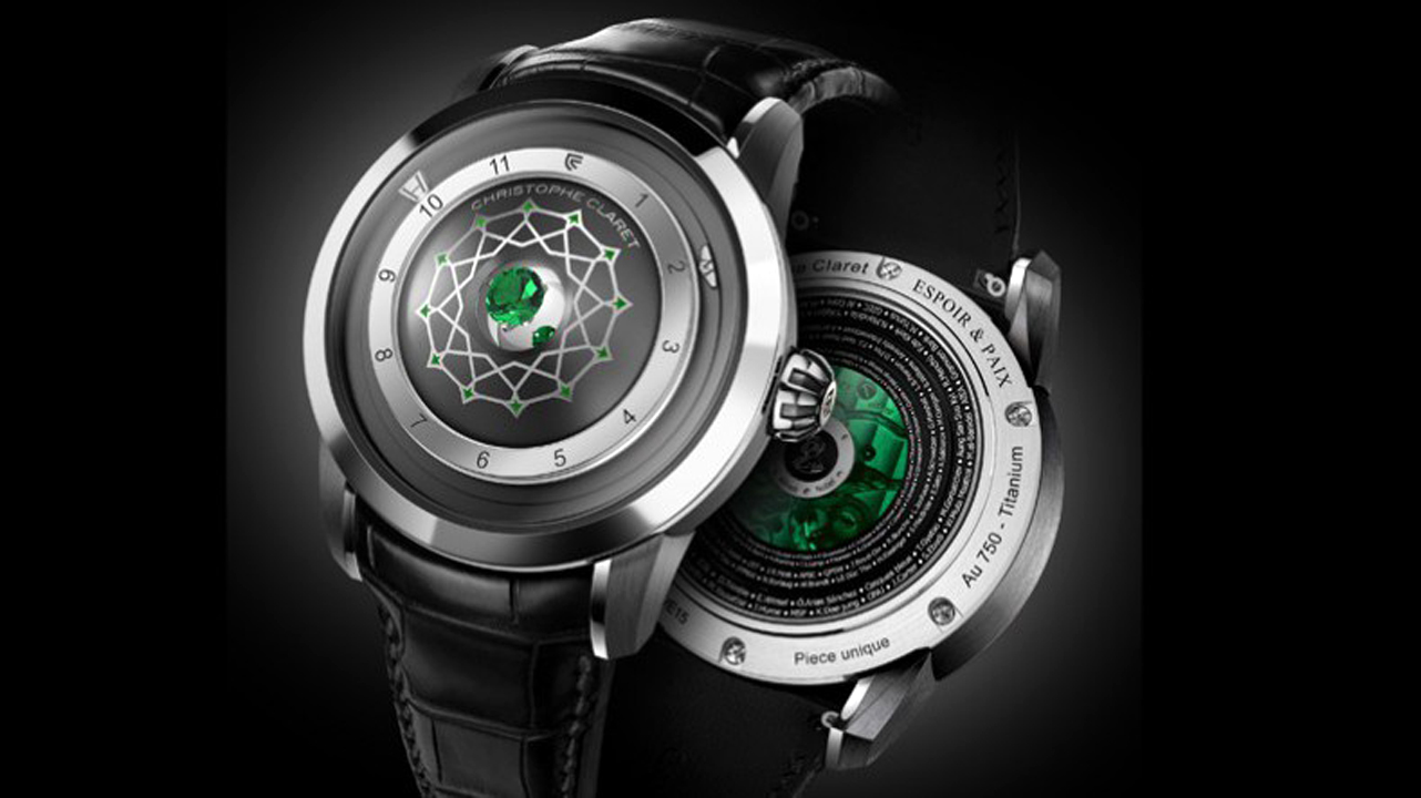 Only Watch 2015: Christophe Claret one-of-a-kind Espoir & Paix