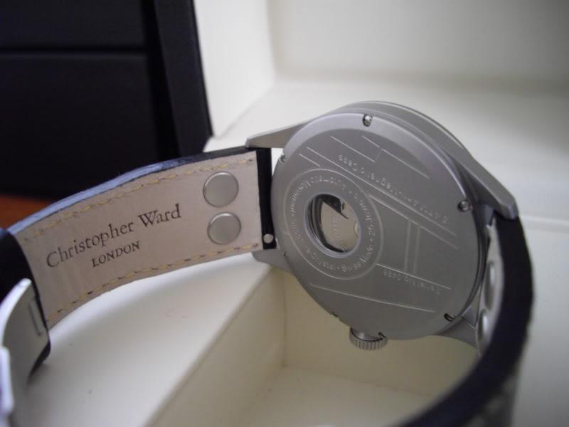 Name:  Christopher Ward C8 Pilot MK II on original strap18.jpg Views: 43 Size:  35.9 KB