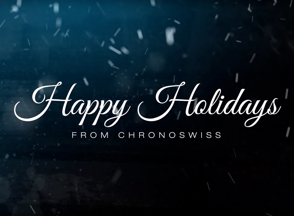 Chronoswiss Holiday Video
