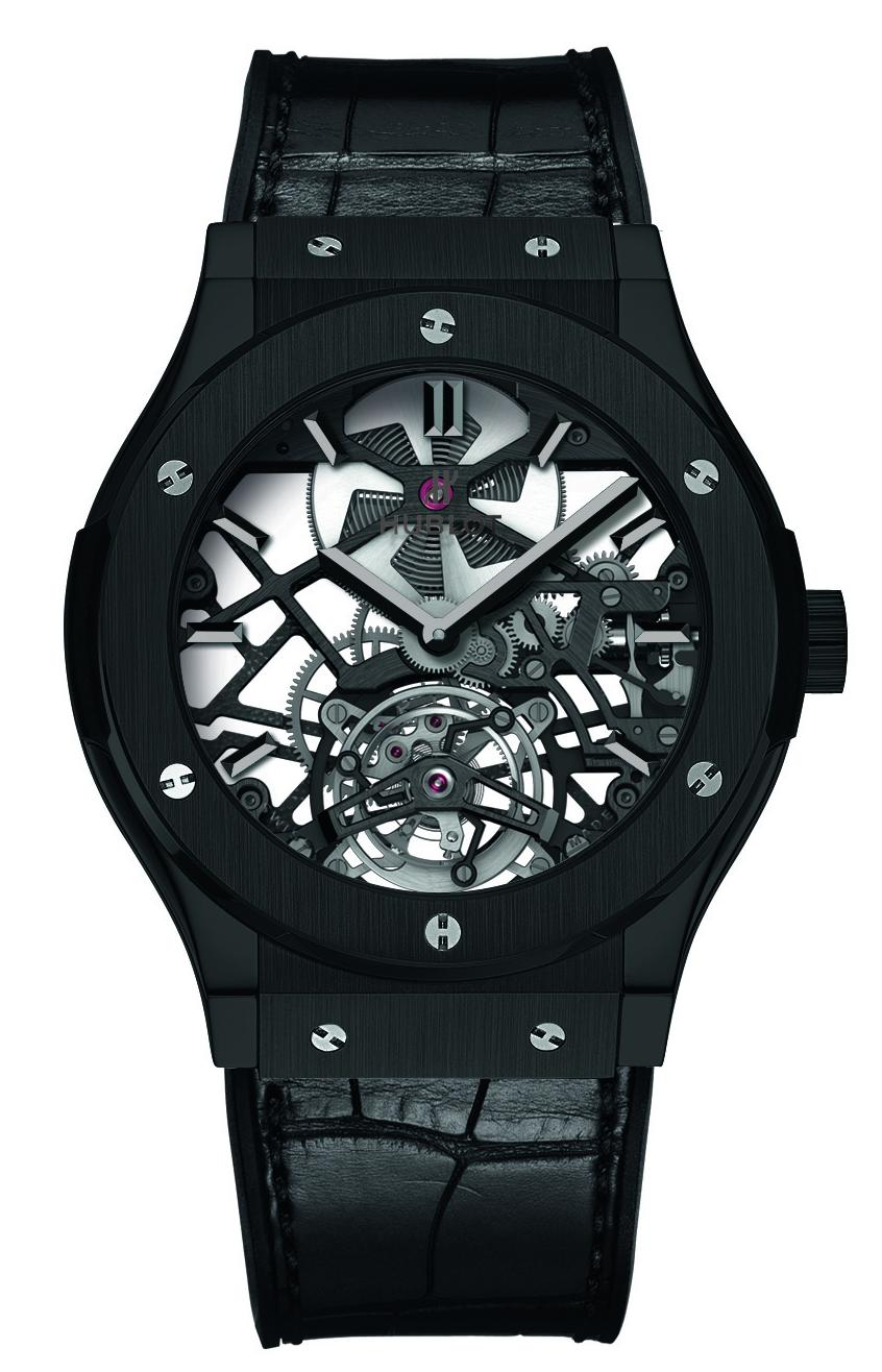 Name:  Classic Fusion Skeleton Tourbillon Black Ceramic front on.jpg