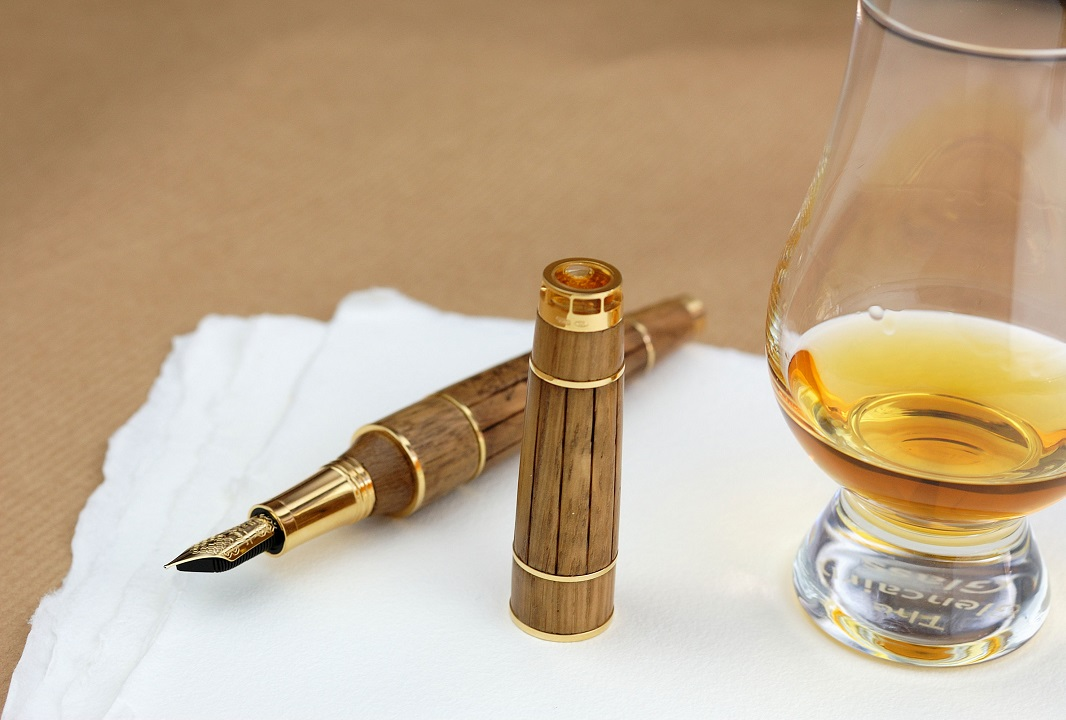 The World's Oldest Cognac Closed In A Montegrappa Fountain Pen