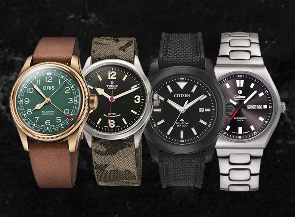 "Seven Sleek ""Field"" Watches Under $5k - watchuseek.com"