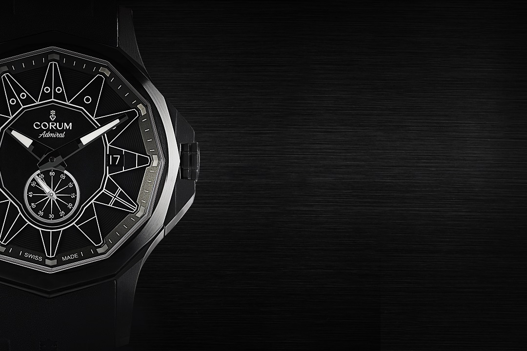 Corum has unveiled its first-ever full black addition to the Admiral 42 collection, and it's limited to just 100 pieces—the Corum Admiral 42 Full Black.