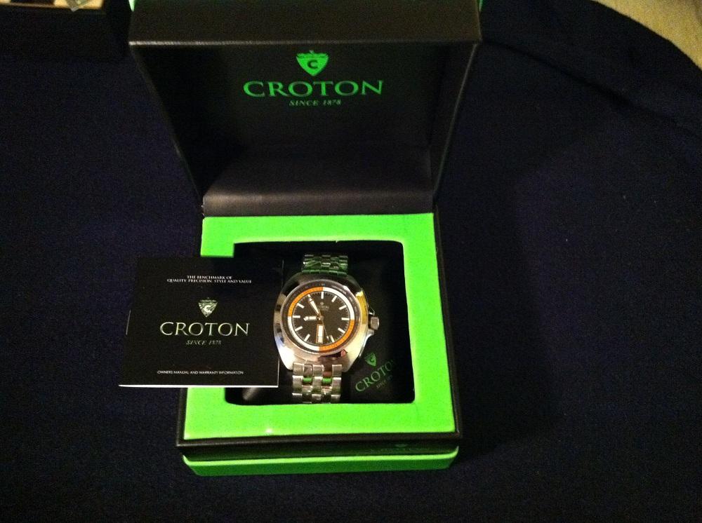 croton swiss automatic watches
