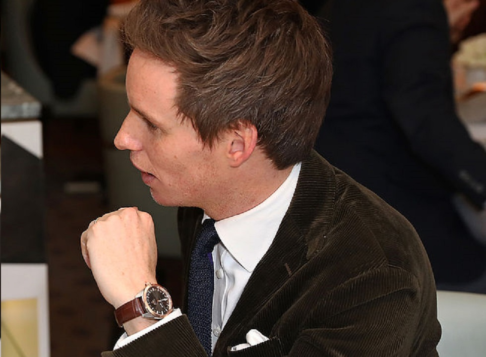 OMEGA Brand Ambassador Eddie Redmayne Joins Globemaster Celebrations in London