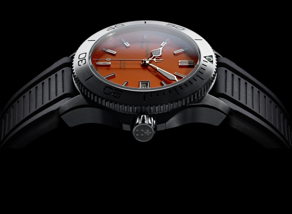 Christopher Ward Orange-Dialed LE C60 Trident