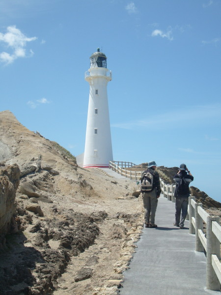 Name:  Dad & SL with Light House Castle Point_1.jpg Views: 332 Size:  76.1 KB