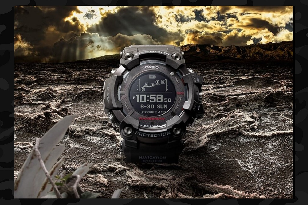 There's a new updated Casio G-Shock Rangeman coming out in the Spring. It's solar-powered with app-based map display, and Bluetooth connectivity.