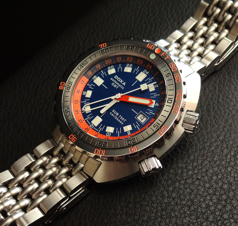 DOXA SUB 750T Caribbean GMT NEAR MINT