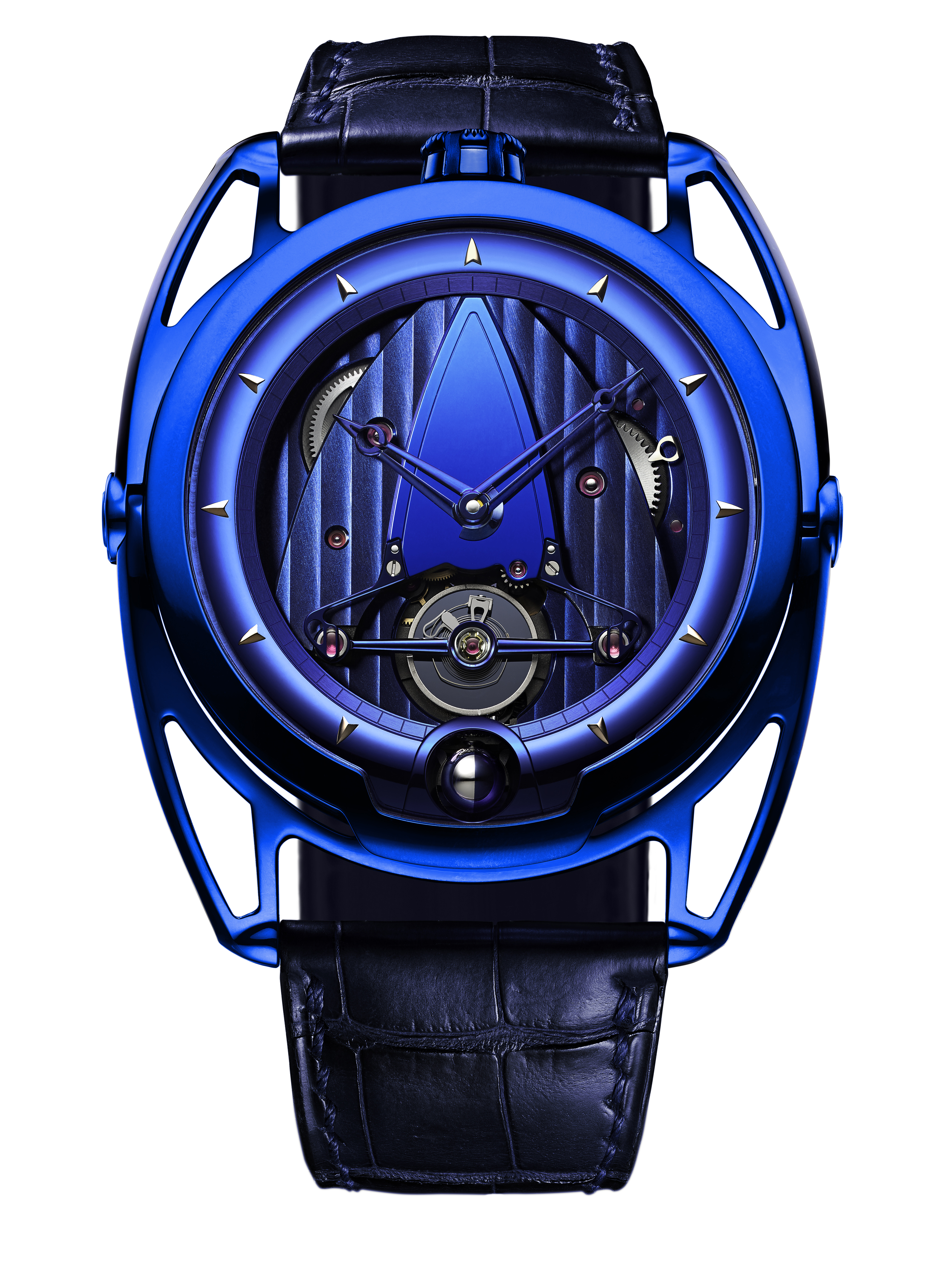 Baselworld 2016 – De Bethune DB28 & DB28T Blue Edition