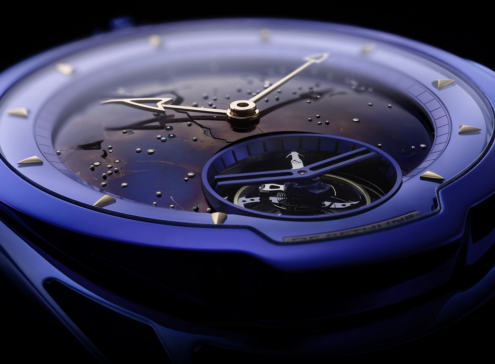 DeBethune DB28 Kind of Blue Tourbillon Meteorite