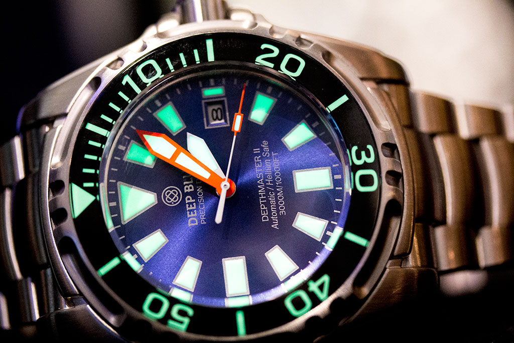 Baselworld 2016: Deep Blue Live Report
