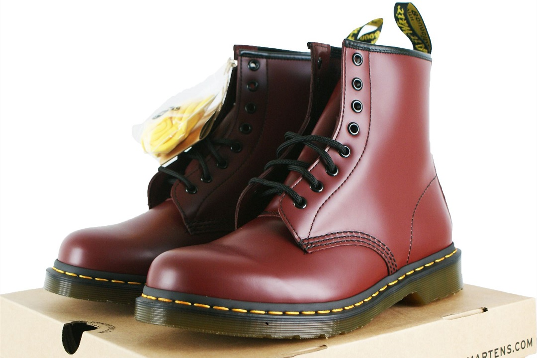 d10ba1b464b Although originally invented by a German at the end of World War II, the Doc  Martens we know today were first launched in the UK on April 1 1960 by shoe  ...