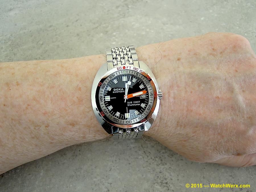 Name:  Doxa 1200T MkII-wrist.jpg Views: 516 Size:  669.3 KB