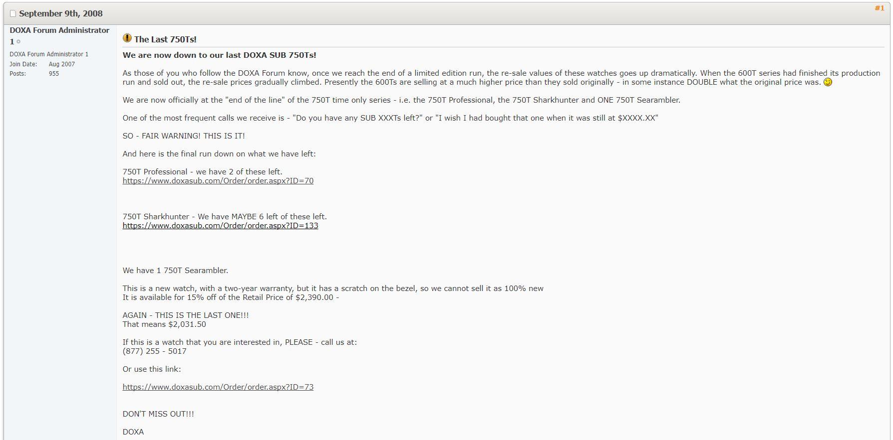 Name:  @ Doxa 750T Admin last chance message.JPG Views: 61 Size:  139.9 KB