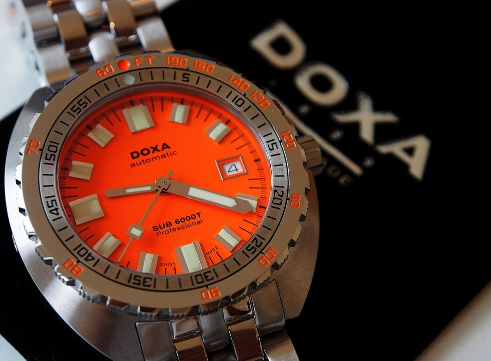 Hublot Watch Price >> Baselworld 2016 Doxa Sub 6000T available for pre-order ...