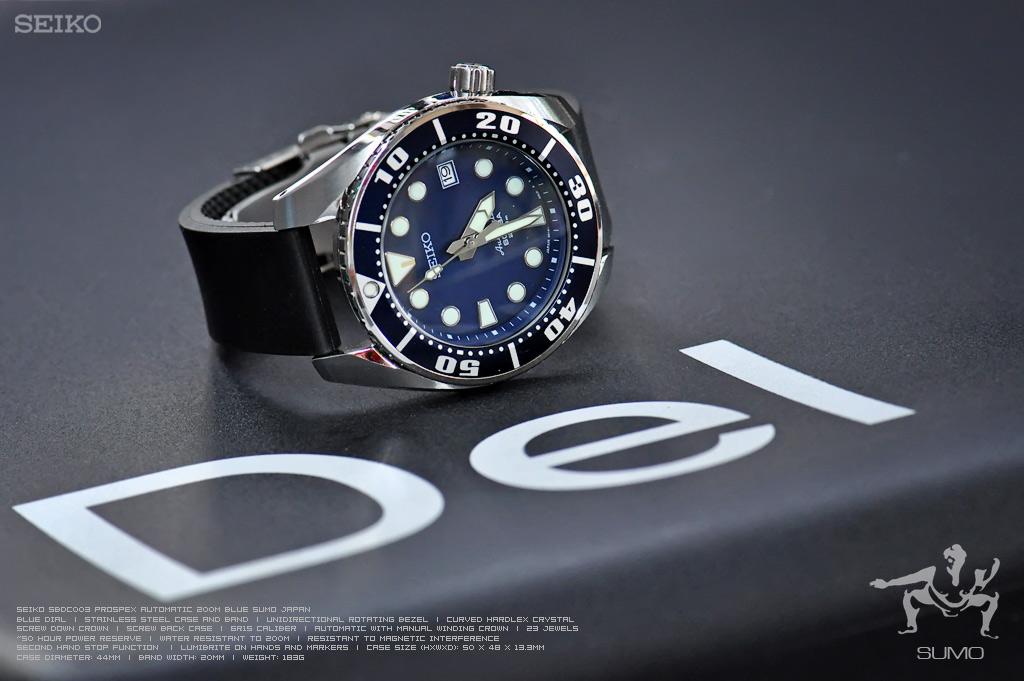 rubber deployment diver, Italian vanilla Bonetto Cinturini items