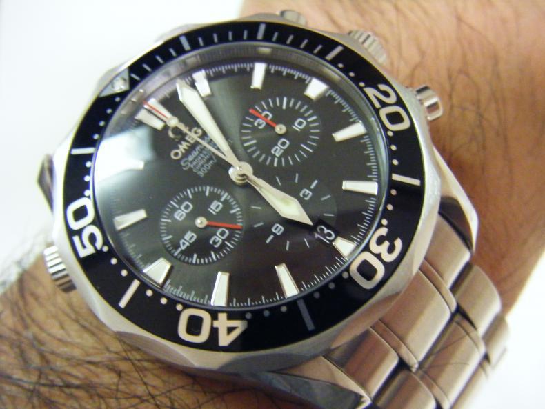 mens omega seamaster  chronograph