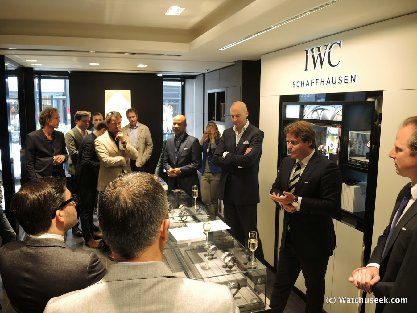IWC SCHAFFHAUSEN Opens Its First (and the 70th world wide) Boutique in The Netherlands