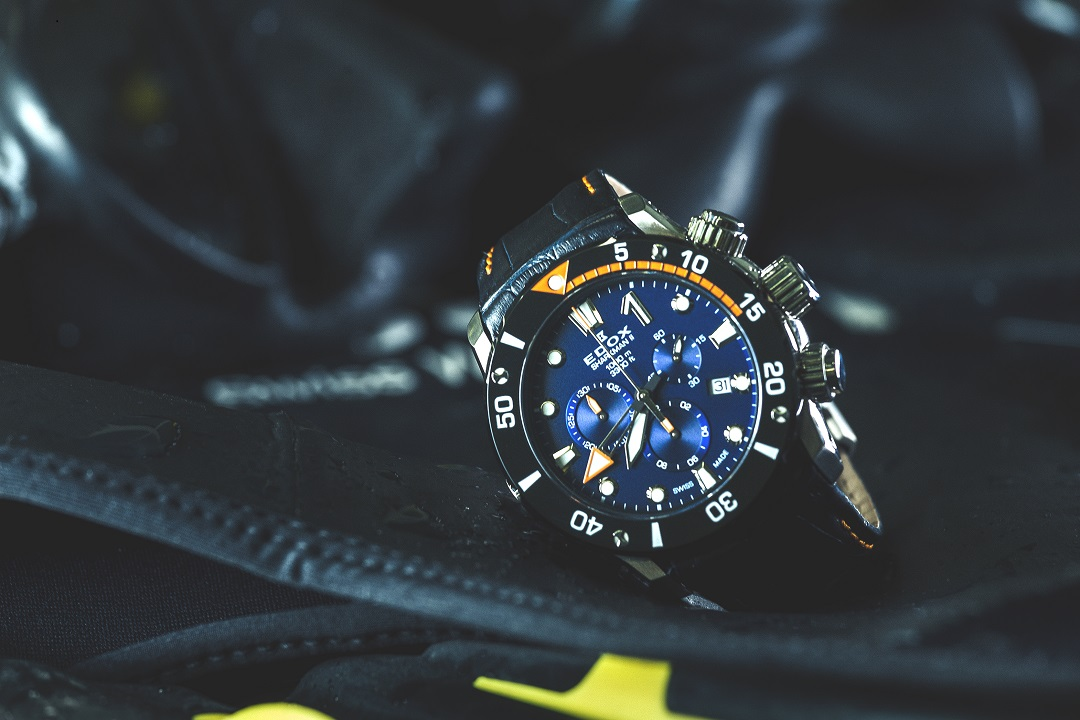 Iceman To Make Record Breaking Plunge With His Edox Sharkman II LE Watch