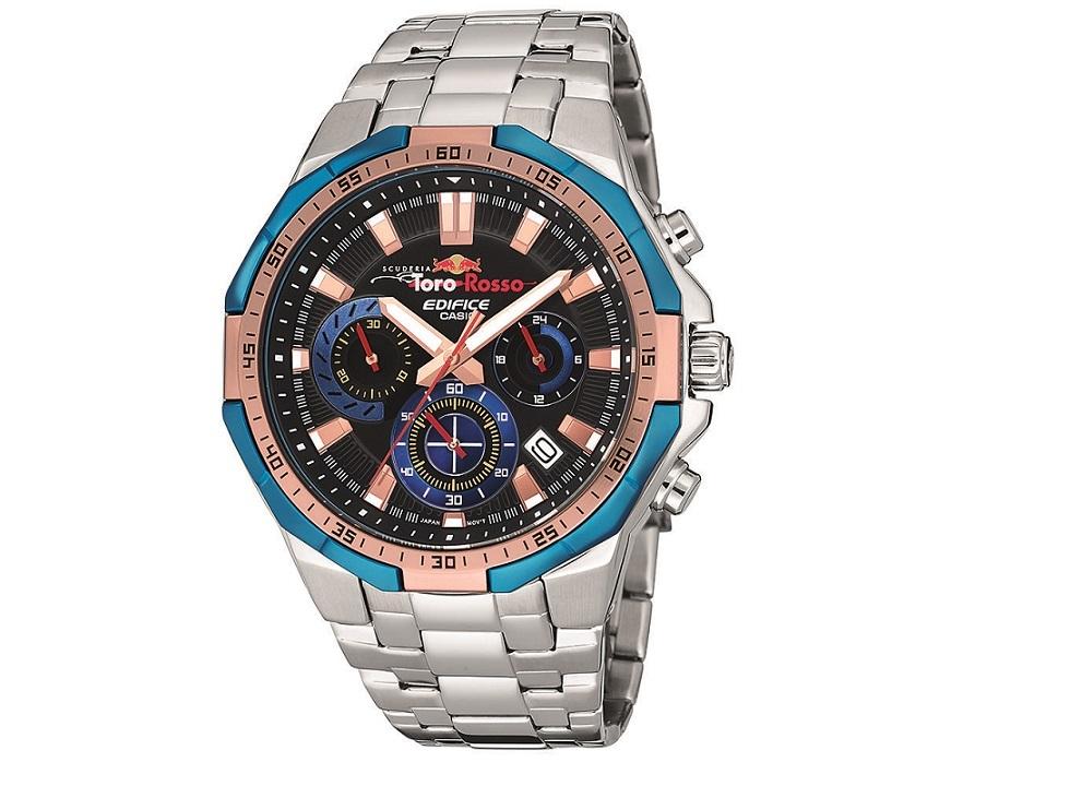 Casio Edifice Scuderia Toro Rosso LE watch