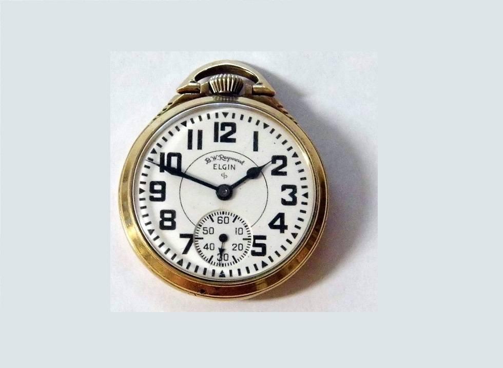 Elgin Railroad Pocket Watch