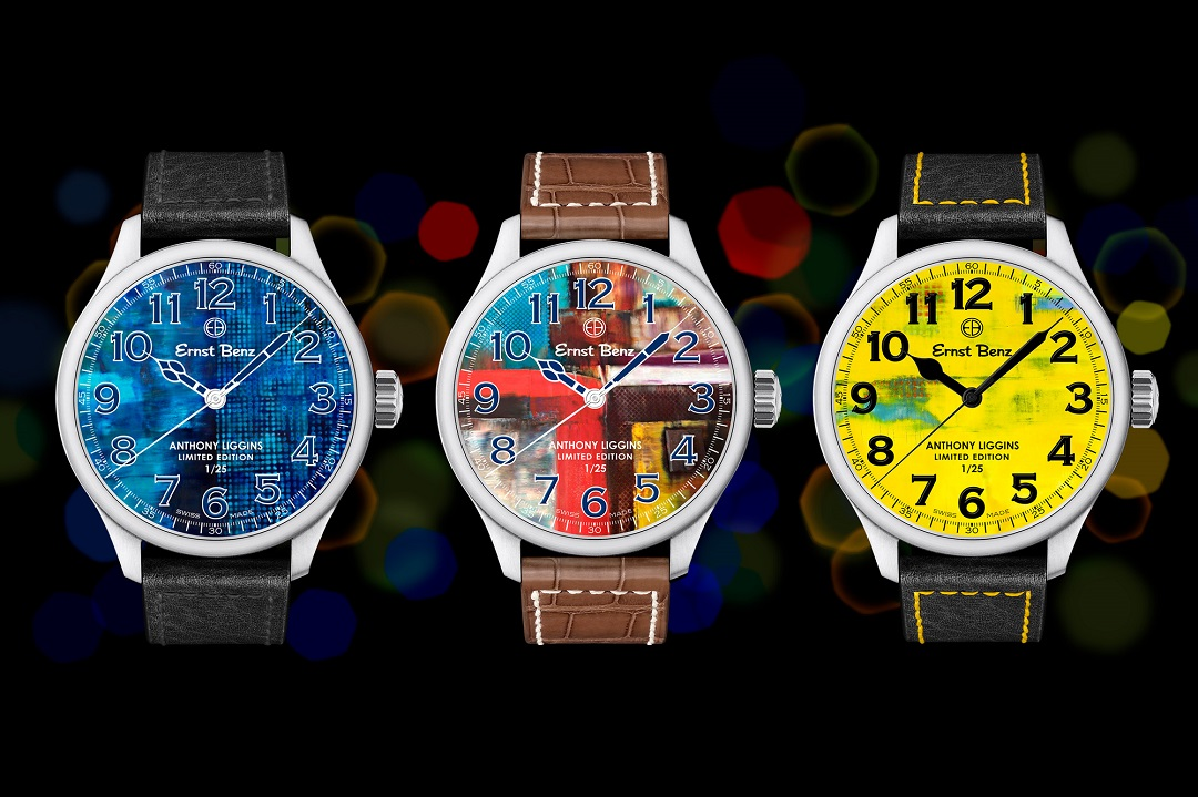 """Ernst Benz """"Art & Time"""" Limited Edition Series"""